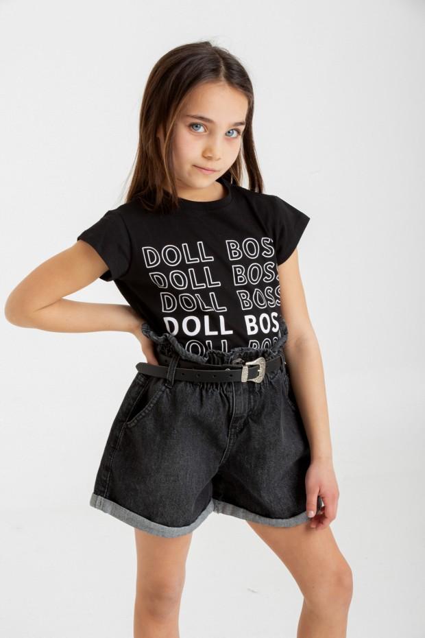 T-shirt stampa doll boss