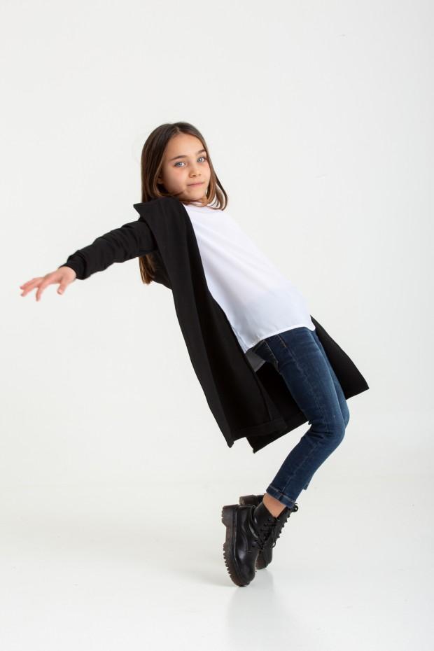 Fleece cardigan