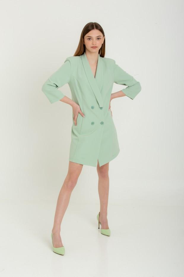 Mini dress blazer