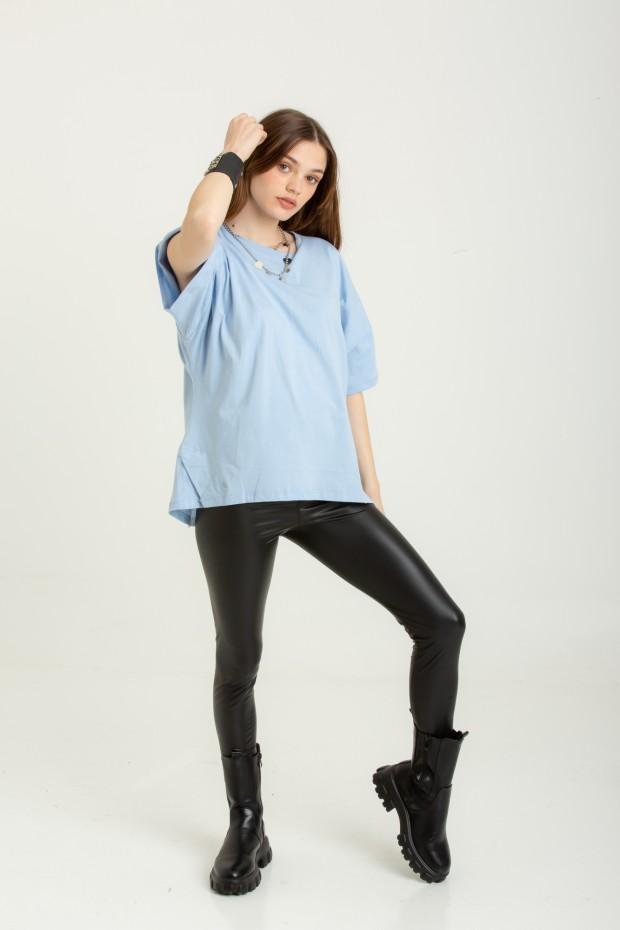 Eco-leather leggings