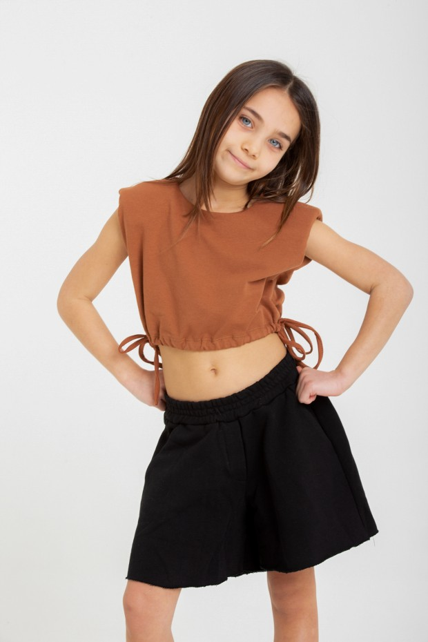 Shorts over in felpa