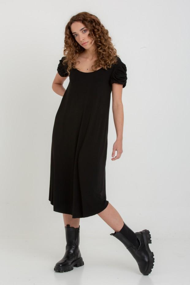 Open back midi dress