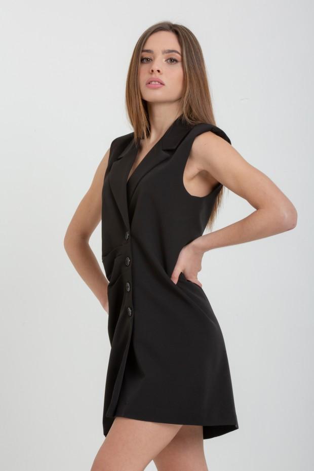 Mini dress con abbottonatura