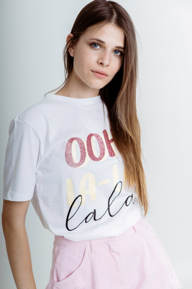 T-shirt with ooh-lala...