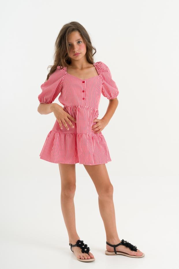 Minidress in vichy